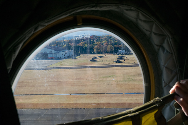 CH-47機内