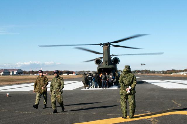 CH-47搭乗