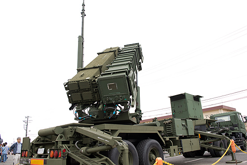 PAC3発射機